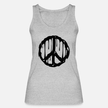 Ban The Bomb Toxic Peace - Women's Organic Tank Top