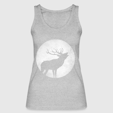 Hirsch rutting time knows gift - Women's Organic Tank Top by Stanley & Stella