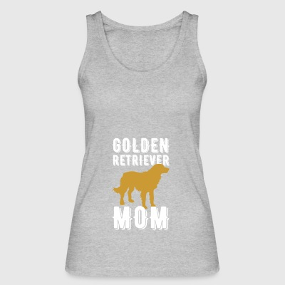 Golden Retriever Mom T Shirt Gift - Frauen Bio Tank Top von Stanley & Stella