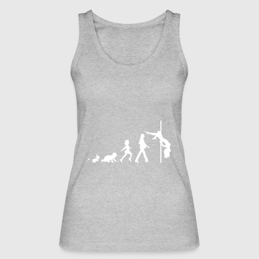Pole Dance Fun Shirt Geschenke Grow Evolution - Frauen Bio Tank Top von Stanley & Stella