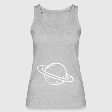 Saturn Planet Earth - Women's Organic Tank Top by Stanley & Stella
