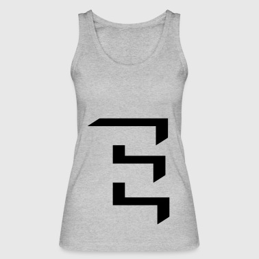 'E' shading - Women's Organic Tank Top by Stanley & Stella
