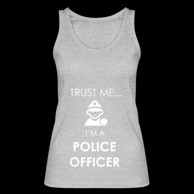 police officer - Women's Organic Tank Top by Stanley & Stella
