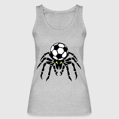 soccer soccer spider spider spinne ball - Women's Organic Tank Top by Stanley & Stella