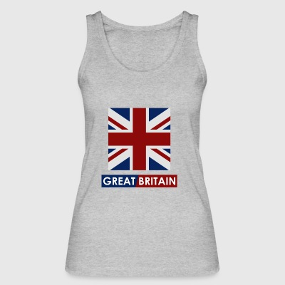 Great Britain flag - Women's Organic Tank Top by Stanley & Stella
