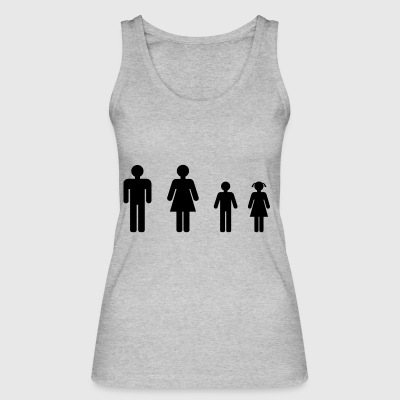 family - Women's Organic Tank Top by Stanley & Stella