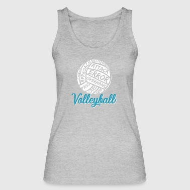 Volleyball player volleyball gift - Women's Organic Tank Top by Stanley & Stella