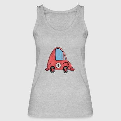Enillo racecar pink number 1 - Women's Organic Tank Top by Stanley & Stella