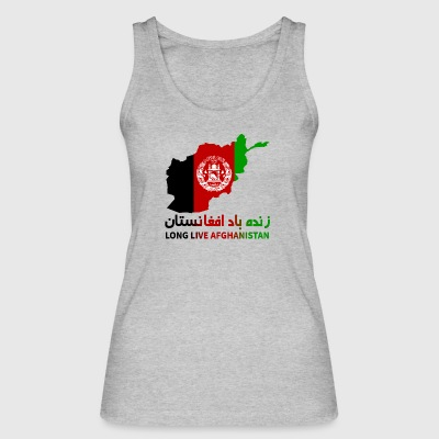 LONG LIVE AFGHANISTAN - Women's Organic Tank Top by Stanley & Stella