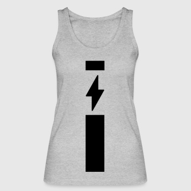 Lightning with strip - Women's Organic Tank Top by Stanley & Stella