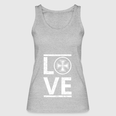 love love calling hobby king master iron cross e - Women's Organic Tank Top by Stanley & Stella
