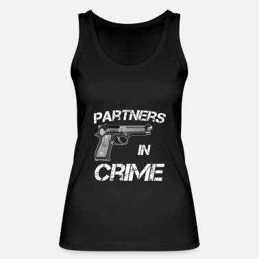 Partner Partner of Crime Partners in Crime Idea - Women's Organic Tank Top by Stanley & Stella