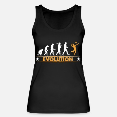 Volleyball Volleyball Evolution - orange/weiss - Women's Organic Tank Top by Stanley & Stella