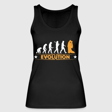 Marriage - evolution - Women's Organic Tank Top by Stanley & Stella
