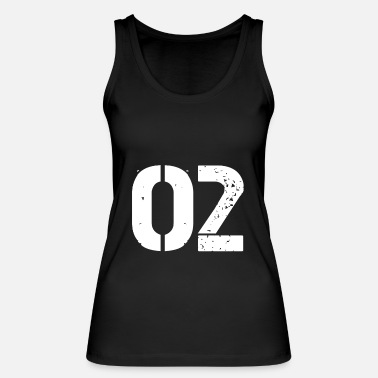 Jersey Number 02 jersey jersey number - Women's Organic Tank Top