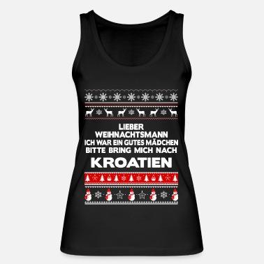 Weihnachten In Kroatien.Weihnachten Kroatien Frauen Premium T Shirt Schwarz