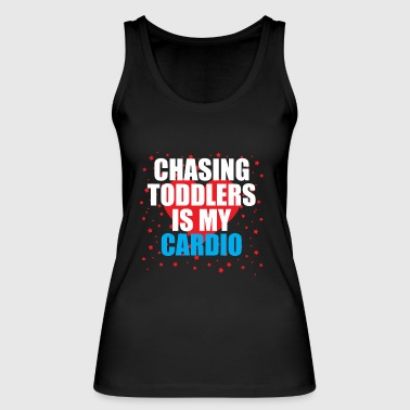 Chasing toddler is my cardio - Women's Organic Tank Top by Stanley & Stella