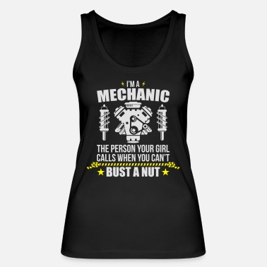 Mechanic Funny Mechanic - funny mechanic - Women's Organic Tank Top by Stanley & Stella