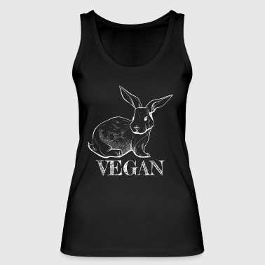 Cool Bunny Vegan Gifts for vegans Vegan Rabbit - Women's Organic Tank Top by Stanley & Stella