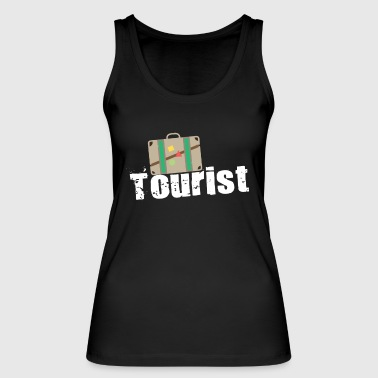 tourist - Women's Organic Tank Top by Stanley & Stella
