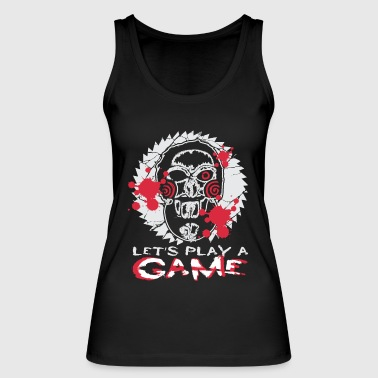 Horror doll, gift, horror, game, horror clown - Women's Organic Tank Top by Stanley & Stella