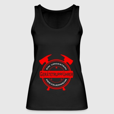 Fire Fighter Fire fighters firefighter born - Women's Organic Tank Top by Stanley & Stella