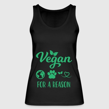 Vegan - Animal Welfare - Gift - Healthy - Women's Organic Tank Top by Stanley & Stella
