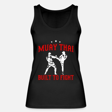 Thai Muay Thai fighter Thai boxing boxer - Women's Organic Tank Top