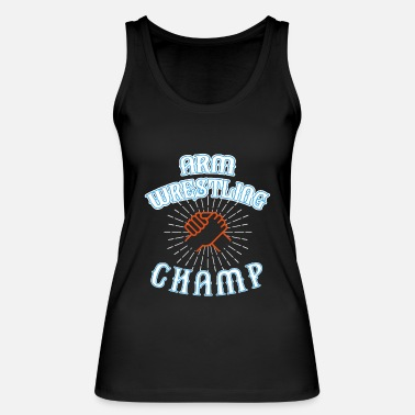 Wrestling ARM WRESTLING CHAMP - Women's Organic Tank Top by Stanley & Stella