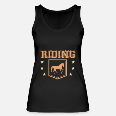 Equitation Horses ride equitation - Women's Organic Tank Top by Stanley & Stella