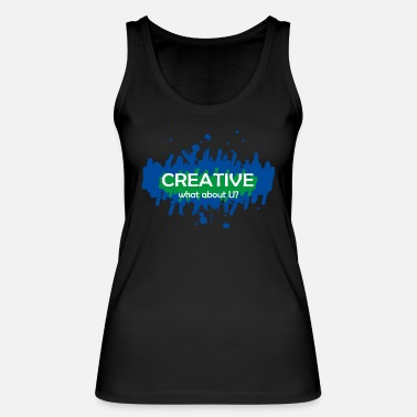 Creative creative - Women's Organic Tank Top by Stanley & Stella
