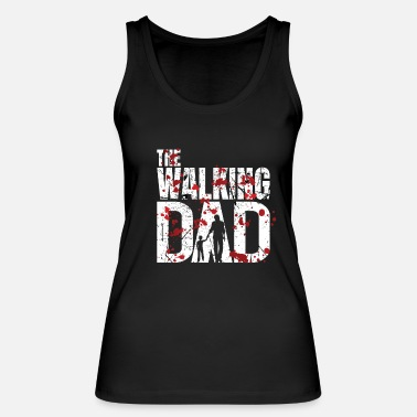 Daddy Bloody Dad Zombie Halloween Father's Day Gift Daddy - Women's Organic Tank Top by Stanley & Stella