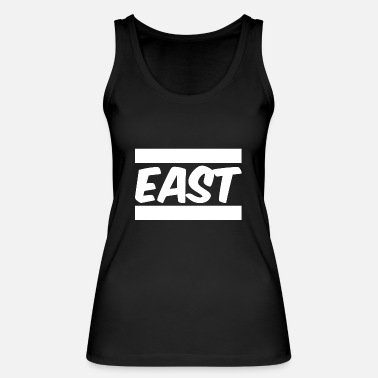 East East - Women's Organic Tank Top by Stanley & Stella