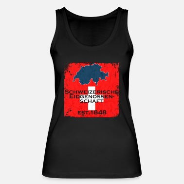 Confederate Swiss Confederation - Women's Organic Tank Top by Stanley & Stella