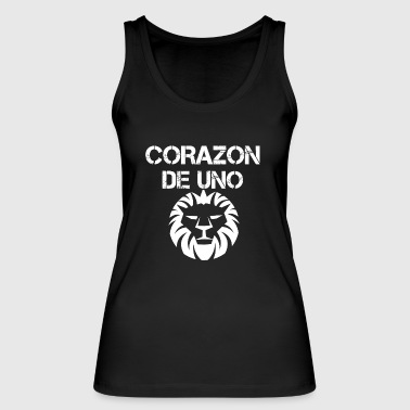 Heart of a lion (Corazon de uno Lio'n) - Women's Organic Tank Top by Stanley & Stella