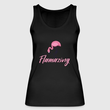 Flamingo flamingo bff friends awesome festival - Women's Organic Tank Top by Stanley & Stella