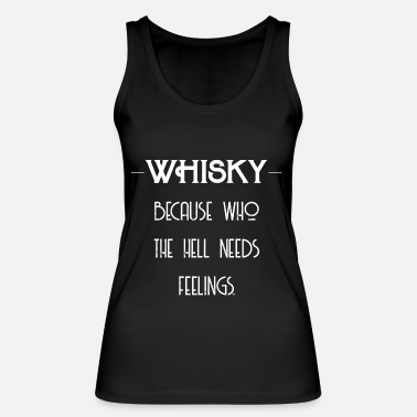 Whiskey Whiskey Feelings - Whiskey Gift Idea - Vrouwen bio tanktop van Stanley & Stella