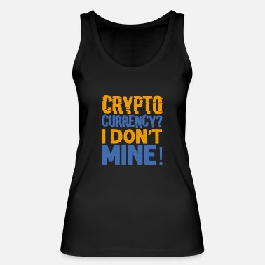 Currency Crypto currency - Women's Organic Tank Top
