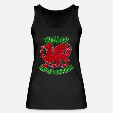 Celtic Symbol Celtic symbols Wales - Women's Organic Tank Top by Stanley & Stella