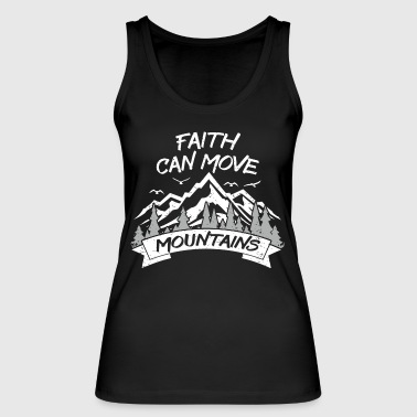 Mountaineering hiking shirt mountains nature gift - Women's Organic Tank Top by Stanley & Stella