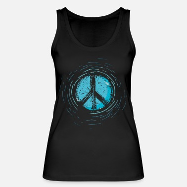 Global Peace Global Peace Peace Sign War Peace Sign - Women's Organic Tank Top