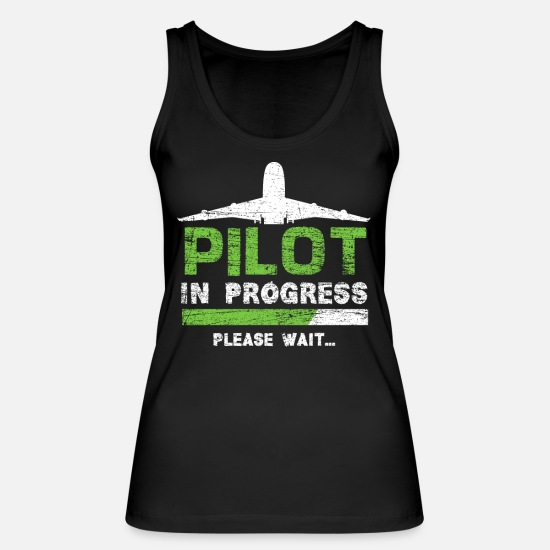 Gift Idea Tank Tops - Pilot training - Women's Organic Tank Top black