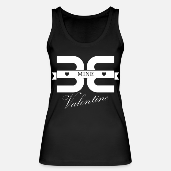 Love Tank Tops - Be my Valentine - Women's Organic Tank Top black