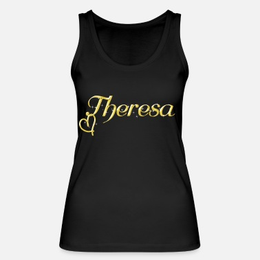 Name Day Theresa name first name women name day - Women's Organic Tank Top