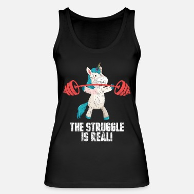 Fitness Sports unicorn - Women's Organic Tank Top