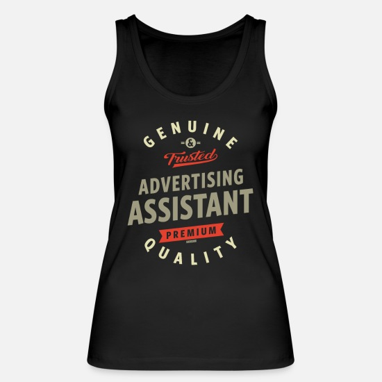 Career Tank Tops - Advertising Assistant - Women's Organic Tank Top black