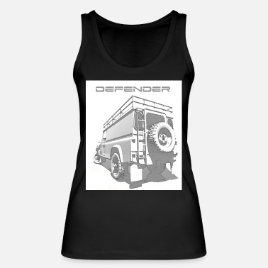 Land Rover Defender LAND ROVER DEFENDER - Women's Organic Tank Top