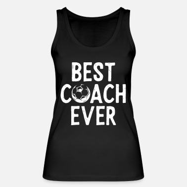 District Best coach ever - football - Women's Organic Tank Top