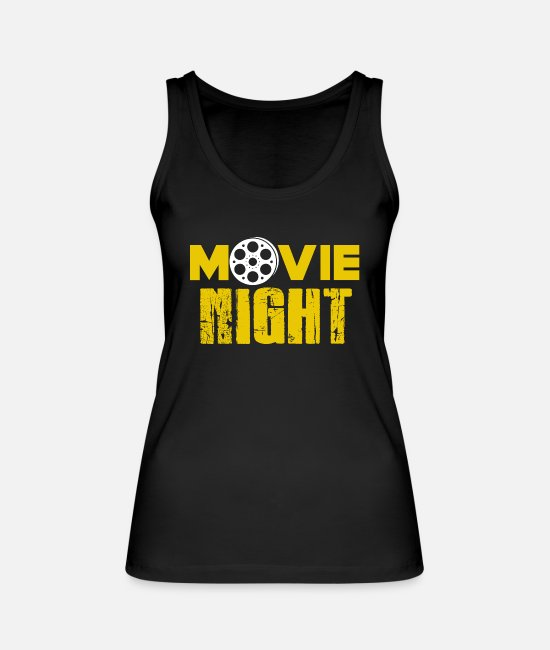 Horror Tank Tops - Movies Cinema Action Movie Horror Movie Movie Gift - Women's Organic Tank Top black