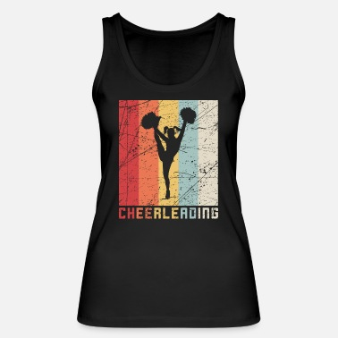 Cheerleader Vintage Cheerleading retrò cheerleader vintage regalo - Canotta ecologica donna